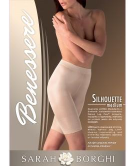 Stahovací kalhotky s nohavičkou SILHOUETTE MEDIUM