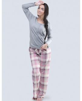 Pyžamo bavlněné GINA 19057P