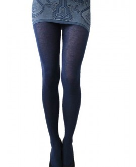 Akrylové punčochové kalhoty
