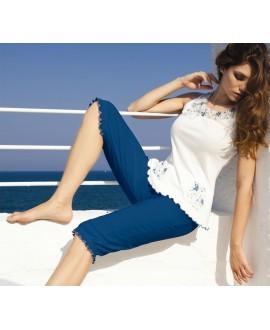 Pyžamo bavlněné ANDRA Capri