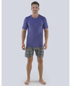 Pánské pyžamo krátké GINO 79074P
