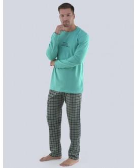 Pánské pyžamo dlouhé GINO 79077P