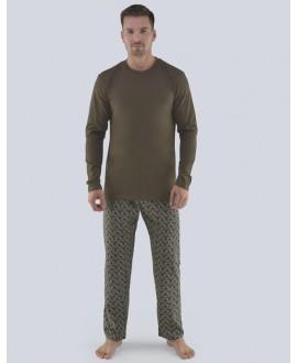 Pánské pyžamo dlouhé GINO 79081P