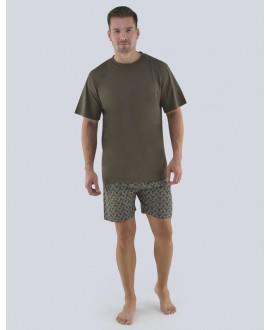 Pánské pyžamo krátké GINO 79082P