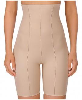 Vysoké stahovací kalhotky s nohavičkami NATURANA 0060