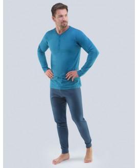 Pánské pyžamo dlouhé GINO 79087P