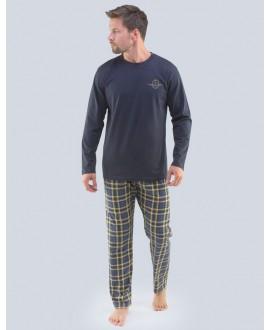 Pánské pyžamo dlouhé GINO 79091P