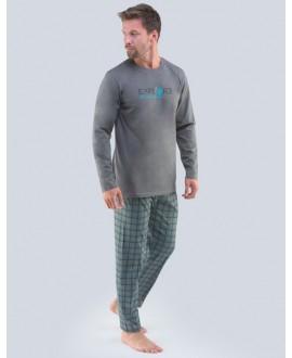 Pánské pyžamo dlouhé GINO 79095P