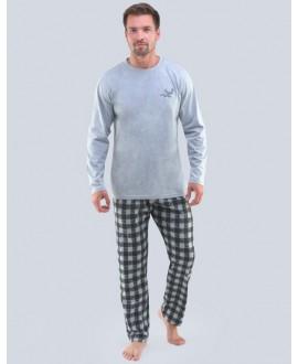 Pánské pyžamo dlouhé GINO 79103P