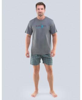Pánské pyžamo krátké GINO 79100P