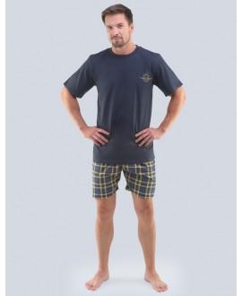 Pánské pyžamo krátké GINO 79096P