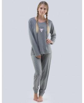 Pyžamo bavlněné GINA 19073P