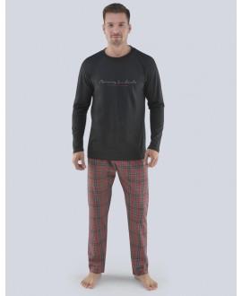 Pánské pyžamo dlouhé GINO 79075P