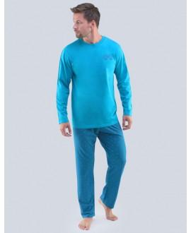 Pánské pyžamo dlouhé GINO 79089P